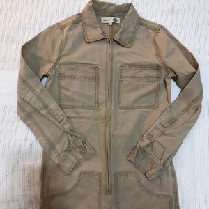 ON HOLD NWOT Madewell X Dickies Tan Jumpsuit XS